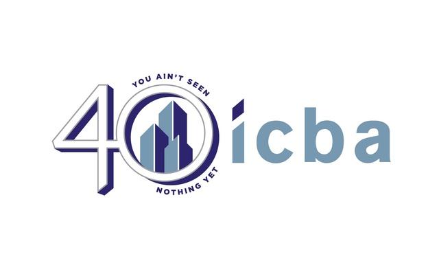 ICBA 40thAnniversaryLogo